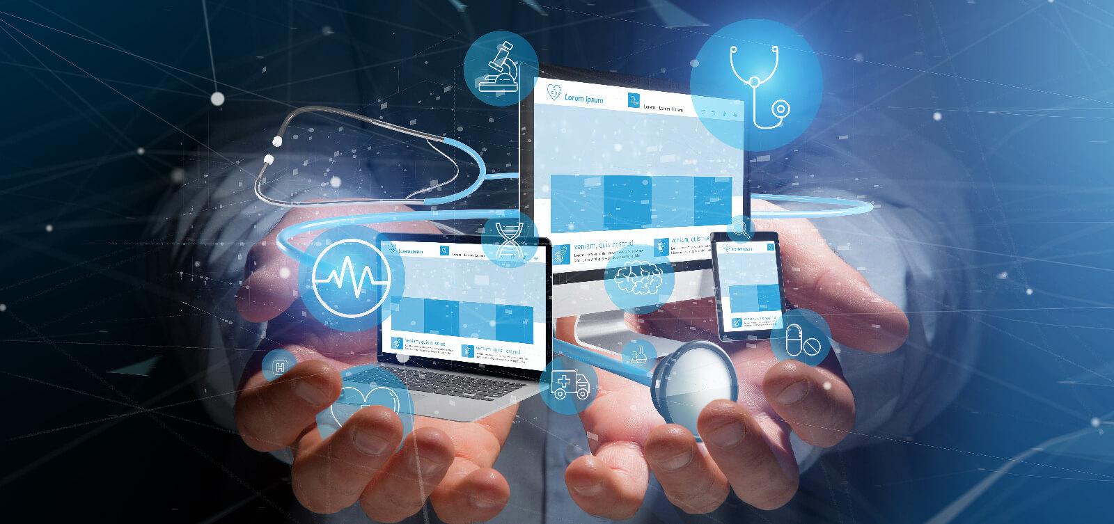 création site web médical