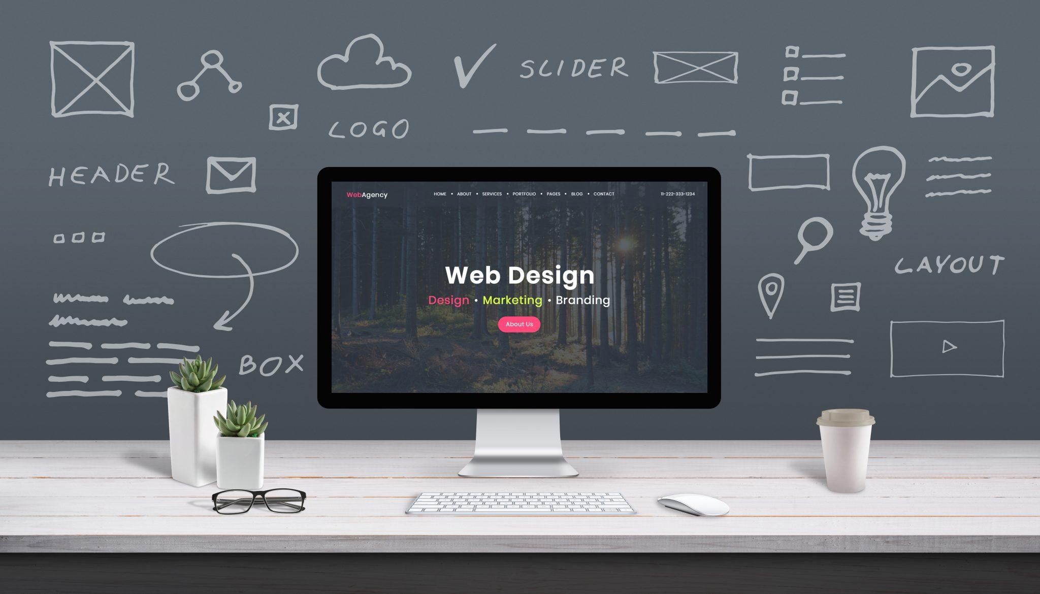 Template site web